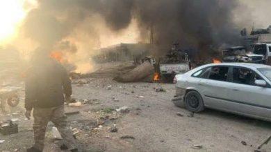 Photo of Li bajarokê Seco yê li bakurê Helebê erebeyeke bombekirî teqiya