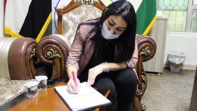 Photo of Parlamenterên jin ê Başûrê Kurdistan û yê Iraqê piştgirî dan kampanyayê