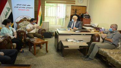 Photo of Meclisa Wargeha Mexmûrê serdana ofîsa parlementoya Iraqê kir