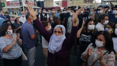 Photo of Li Bakirkoyê polîsên AKP'ê daxuyaniya HDP'ê asteng kir