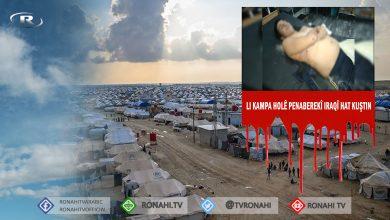 Photo of Li kampa Holê penaberekî Iraqî ji aliyê kesine nenas ve hat kuştin