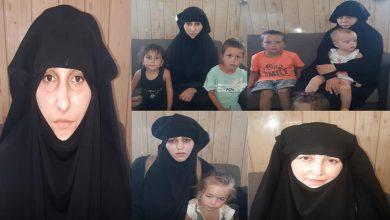 Photo of 5 jinên DAIŞ'î ku hewl didan ji kampa Holê birevin, hatin girtin