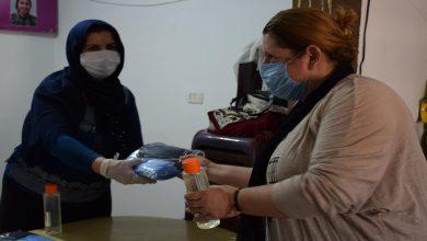 Photo of Kongra Star maske û madeyeên dezenfektekirinê li şêniyan belav kir