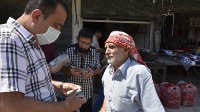 Photo of Li taxên Şêx Meqsûd û Eşrefiyê yên Helebê hezar maske hat belavkirin