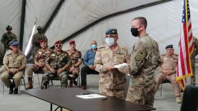 Photo of Koalîsyona Navnetewî baregeha leşkerî ya Tacî radestî Iraqê kir