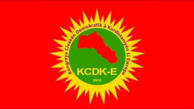 Photo of KCDK-E: 1'ê Îlonê li her derê em dakevin qadan