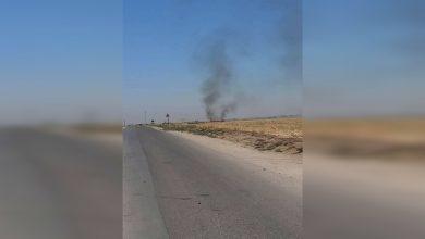 Photo of Li gundê Til Deheb balafirên Koalîsyonê benda kontrolê ya hikûmeta Şamê bombebaran kir
