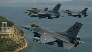Photo of Balafirên şer ên Tirkiyê 33 caran li ser giravên Yûnanistanê geriyan