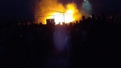 Photo of Li kampa Erîşa ya li başûrê Hesekê şewat derket