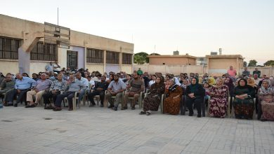 Photo of PYD'ê civînek ji şêniyên bajarokê Girbawî re li dar xist