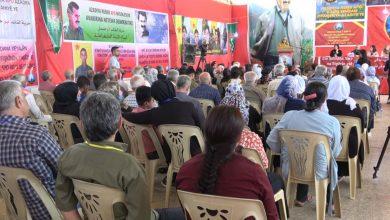 Photo of Meclisa Malbatên Şehîdan a herêma Efrînê 7'emîn konferansa xwe li dar xist