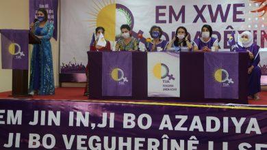 Photo of Tevgera Jinên Azad TJA dest bi kampanya 'Em xwe diparêzin' kir