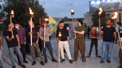 Photo of Ciwanên Başûr li bajarê Silêmaniyê meşek lidarxist