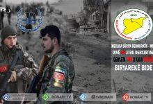 Photo of MSD: Divê NY ji bo derxistina dewleta Tirk ji xaka Sûriyê biryarekê bide