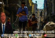 Photo of Amerîka 720 milyon dolar ji bo gelê Sûriyê vediqetîne