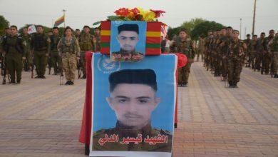 Photo of Şehîd Teysîr El-Delî li Hesekê hat oxirkirin
