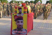 Photo of Li Hesekê şehîd Mihemed El-Hesen bi merasîmekê hat oxirkirin