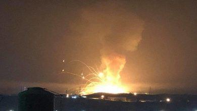 Photo of Li bajarê Zerqaa a Urdinê depoyeke teqemeniyê teqiya