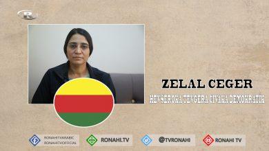 Photo of Zelal Ceger: Divê Kurd di vê qonaxê de çarenûsa xwe diyar bikin