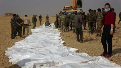 Photo of Hikûmeta Şamê bi çavdêriya QSD'ê 42 cenaze ji goreke komî derxistin