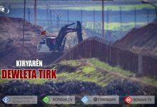 Photo of Artêşa Tirk li ser sînorê Bakur û Rojava xendeqan dikole