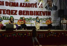 Photo of Li Qamişlo Tevgera Xwendekarên Demokratîk bi çalakiyekê piştgirî dan pêngava KCK'ê