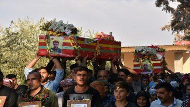 Photo of Şehîd Diyar û Çiya bi merasîmekê hatin oxirkirin