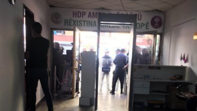 Photo of Polîsan avêtin ser avahiya HDP'ê ya Amedê