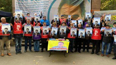 """Photo of Pêngava """"Ji Ocalan re Azadî"""" di roja 4. De li ber Konseya Ewropayê didome"""
