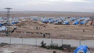 Photo of Artêşa Tirk kampa koçberên Eyn Îsayê topbaran kir