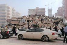 Photo of Li bajarê Îzmirê yê Tirkiyê bi pileya 6.6 erdhej pêk hat