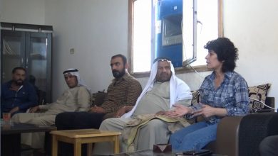Photo of MSD'ê ji şêniyên Şedadê re nameya Ilham Ehmed ragihand